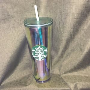 Starbucks Holographic Mermaid Siren 24oz Cold Cup